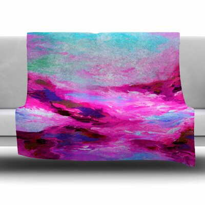 Taken by the Undertow 4 Fleece Throw Blanket Size: 40 L x 30 W