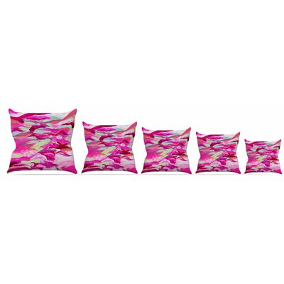 Still Up in the Air 3 Throw Pillow Size: 16 H x 16 W x 3 D