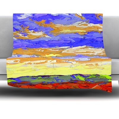 After the Storm Fleece Throw Blanket Size: 80 L x 60 W