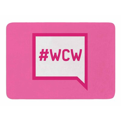 Women Crush Wednesday Original Memory Foam Bath Mat