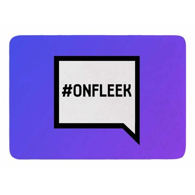 On Fleek Original Memory Foam Bath Mat
