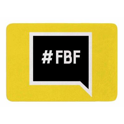 Flash Back Friday Original Memory Foam Bath Mat