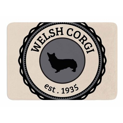 Welsh Corgi Original Memory Foam Bath Mat