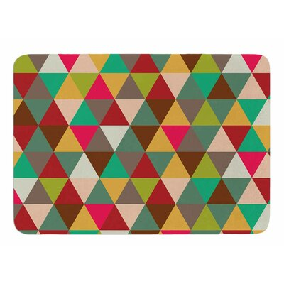 Autumn Triangle Spectrum Original Memory Foam Bath Mat