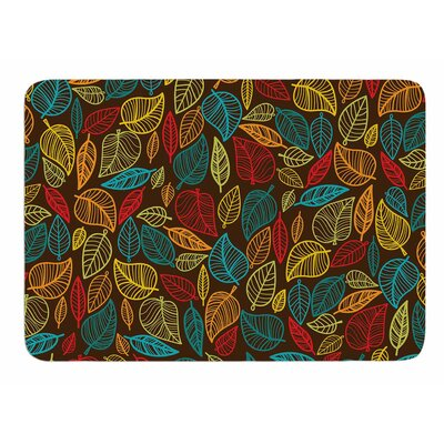 Leaves all Around Original Memory Foam Bath Mat