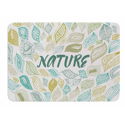 Nature Earth by Pom Graphic Design Memory Foam Bath Mat