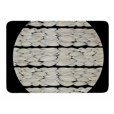 La Luna by Pom Graphic Design Memory Foam Bath Mat