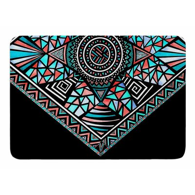 Geo Glass by Pom Graphic Design Memory Foam Bath Mat