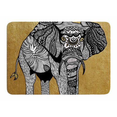 Elephant by Pom Graphic Design Memory Foam Bath Mat