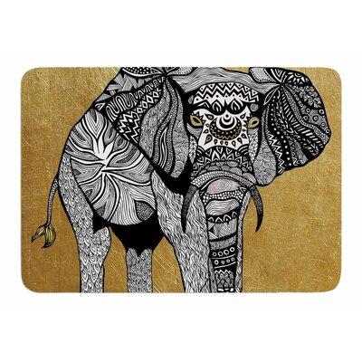 Elephant by Pom Graphic Design Memory Foam Bath Mat