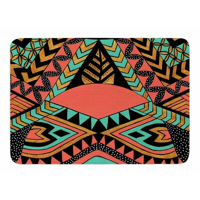 Peru Native by Pom Graphic Design Memory Foam Bath Mat