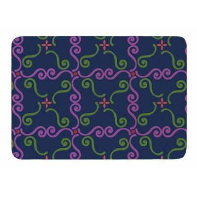 Bracken Square by Sets Megawatt Memory Foam Bath Mat