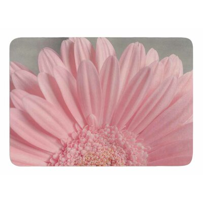 Summer Daisy by Suzanne Hartford Memory Foam Bath Mat
