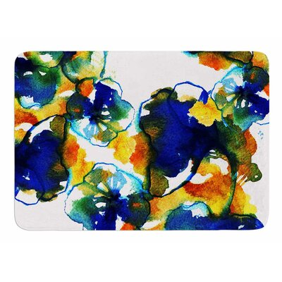 Floral by Tonal Nathan Memory Foam Bath Mat