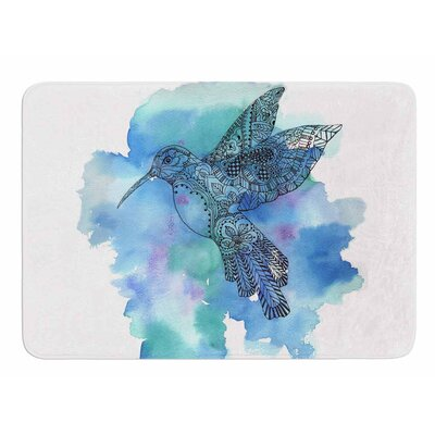 Hummingbird by Tonal Nathan Memory Foam Bath Mat