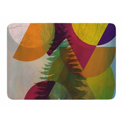 Hidden Face by AlyZen Moonshadow Memory Foam Bath Mat