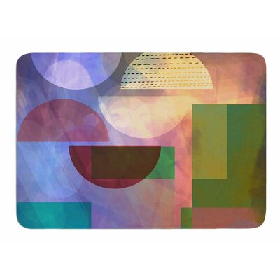 Baying at the Moon by AlyZen Moonshadow Memory Foam Bath Mat