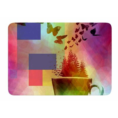 Teacup Fantasy by AlyZen Moonshadow Memory Foam Bath Mat