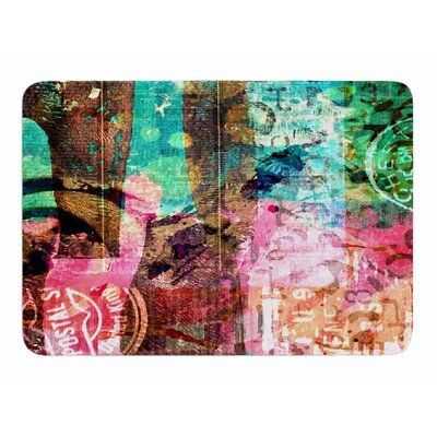 Abstract by AlyZen Moonshadow Memory Foam Bath Mat