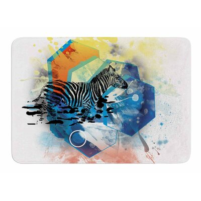 Walk Off the Colors by Frederic Levy-Hadida Memory Foam Bath Mat