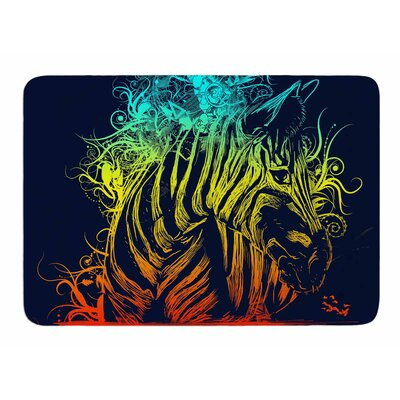 Wild Nature by Frederic Levy-Hadida Memory Foam Bath Mat