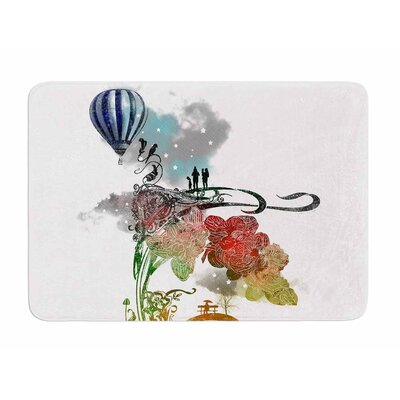 A Little Paradise by Frederic Levy-Hadida Memory Foam Bath Mat