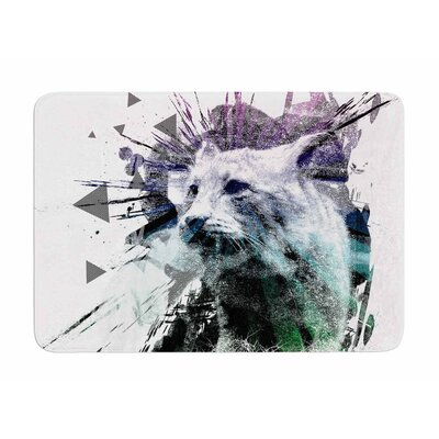 Predation Instinct by Frederic Levy-Hadida Memory Foam Bath Mat