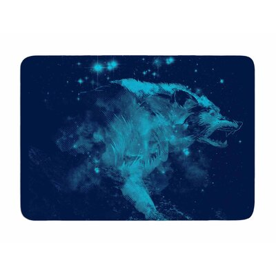 Predation Instinct II by Frederic Levy-Hadida Memory Foam Bath Mat