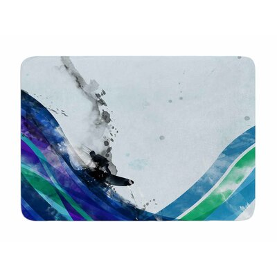The Wave by Frederic Levy-Hadida Memory Foam Bath Mat