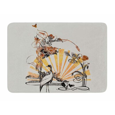 Art Nouveau Tune by Frederic Levy-Hadida Memory Foam Bath Mat
