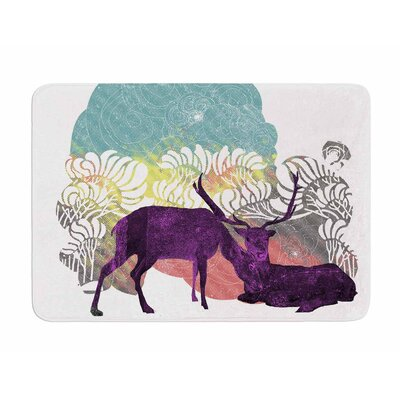 Tenderness by Frederic Levy-Hadida Memory Foam Bath Mat