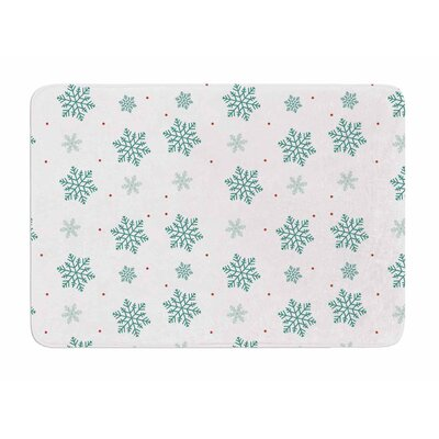 Snow by Louise Memory Foam Bath Mat