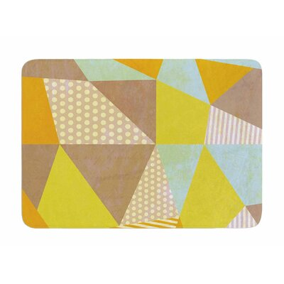 Geometric by Louise Machado Memory Foam Bath Mat