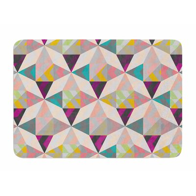 True Diamonds by Louise Machado Memory Foam Bath Mat