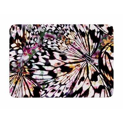 Butterfly Wings by Louise Machado Memory Foam Bath Mat
