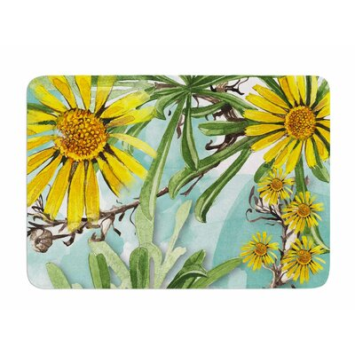 Sunny Day by Liz Perez Memory Foam Bath Mat