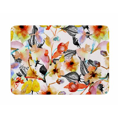 Blossoms by Liz Perez Memory Foam Bath Mat