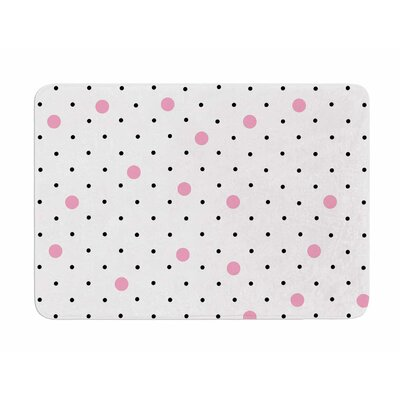 Pin Points Polka Dot by Project M Memory Foam Bath Mat