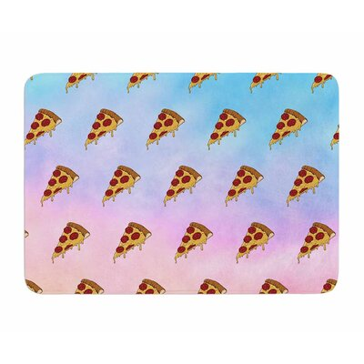 Lucid Pizza by Juan Polo Memory Foam Bath Mat