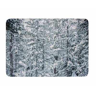 Winter Trials by Juan Polo Memory Foam Bath Mat