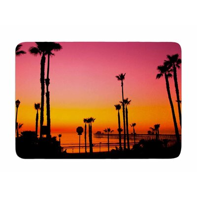Pacific Dream by Juan Polo Memory Foam Bath Mat