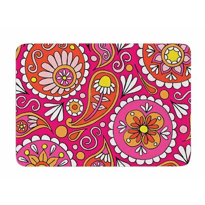 Paisley Pop by Sarah Jericho Memory Foam Bath Mat