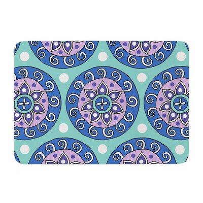 Mandala Dot by Sarah Jericho Memory Foam Bath Mat