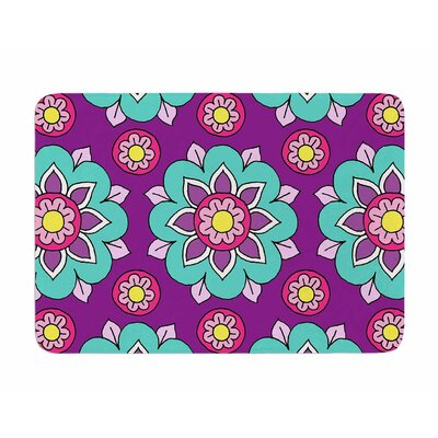 Bright Blossoms by Sarah Jericho Memory Foam Bath Mat