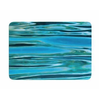 Water by Susan Sanders Memory Foam Bath Mat