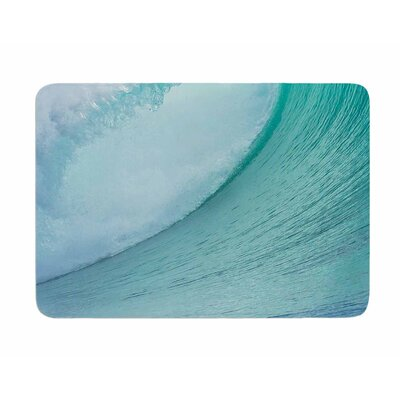 Ocean Wave by Susan Sanders Memory Foam Bath Mat