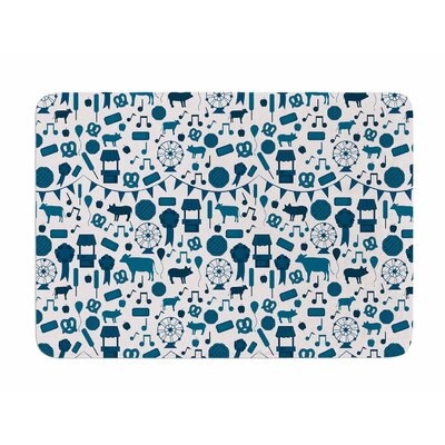 Country Fair by Stephanie Valet Memory Foam Bath Mat