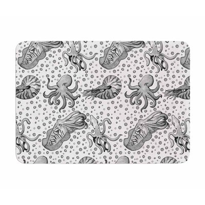 Hydrocephalus by Stephanie Valet Memory Foam Bath Mat