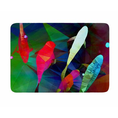 FISH 2 by AlyZen Moonshadow Memory Foam Bath Mat