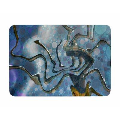 Wonky by AlyZen Moonshadow Memory Foam Bath Mat